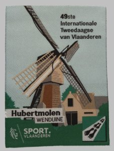 Badge 2018 - Hubertmolen Wenduine